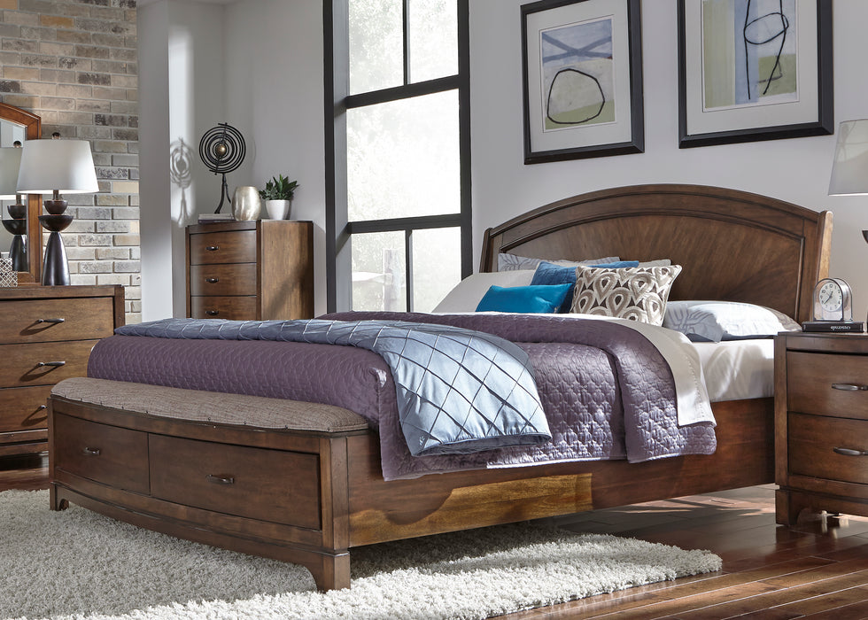 Liberty Furniture | Bedroom King Panel Storage Beds in Winchester, Virginia 1342