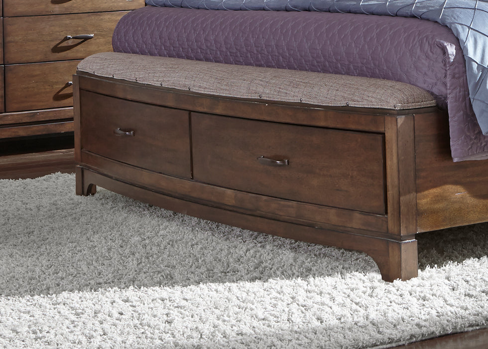 Liberty Furniture | Bedroom King Panel Storage Beds in Winchester, Virginia 1344