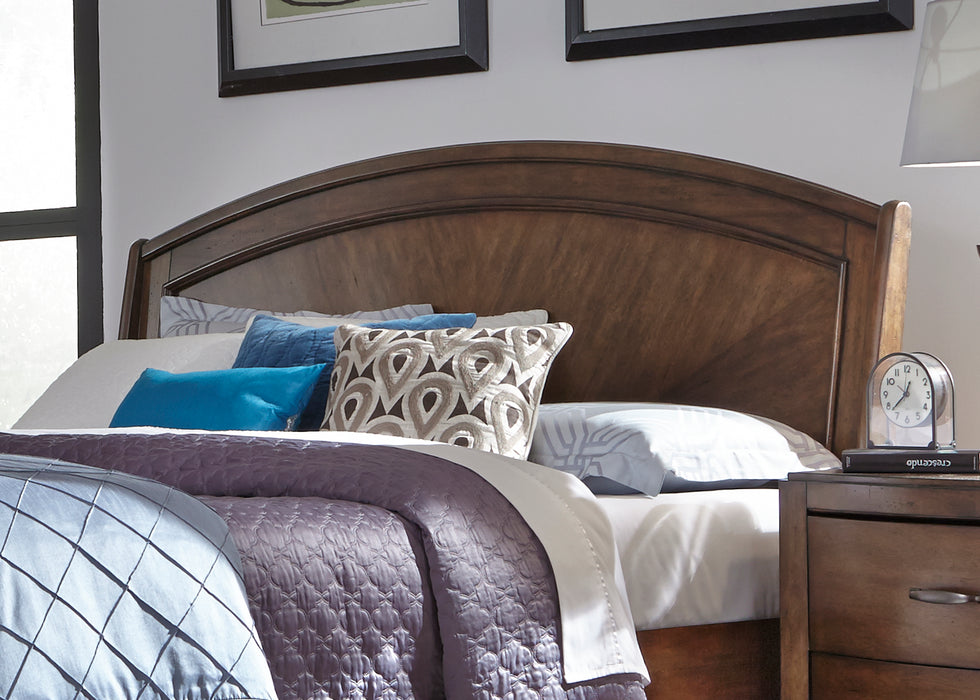 Liberty Furniture | Bedroom King Panel Storage Beds in Winchester, Virginia 1343