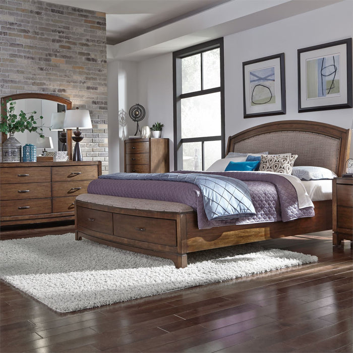 Liberty Furniture | Bedroom King Panel Storage 4 Piece Bedroom Sets in Pennsylvania 1382