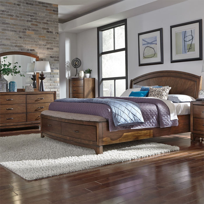 Liberty Furniture | Bedroom King Panel Storage 4 Piece Bedroom Sets in Annapolis, MD 1414