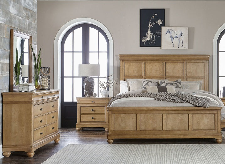 Legacy Classic Furniture |  Bedroom King Panel 3 Piece Bedroom Set in Pennsylvania 462