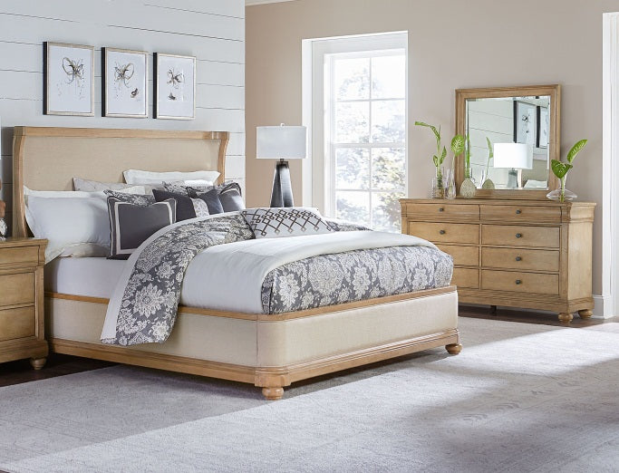 Legacy Classic Furniture |Bedroom Queen Uph 3 Piece Bedroom Set in New Jersey, NJ 562
