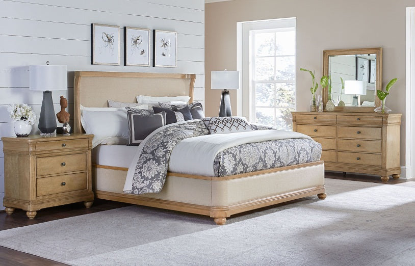 Legacy Classic Furniture | Bedroom King Uph 4 Piece Bedroom Set in Pennsylvania 636