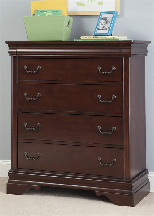 Carriage Court Youth Bedroom 5 Drawer Chest
