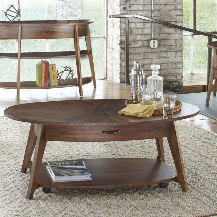 Liberty Furniture | Occasional Oval Cocktail Table in Richmond Virginia 7370