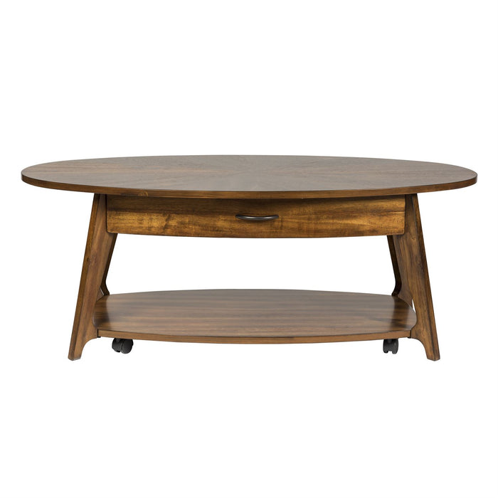Liberty Furniture | Occasional Oval Cocktail Table in Richmond Virginia 7369