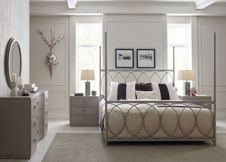 Legacy Classic Furniture | Bedroom King Metal Canopy 4 Piece Bedroom Set in New Jersey, NJ 6096