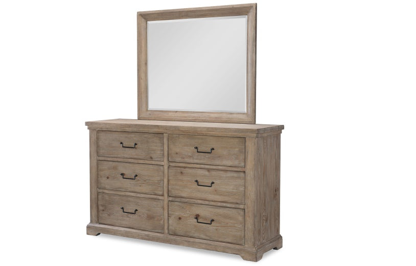 Legacy Classic Furniture | Bedroom Queen Uph Low Post 5 Piece Bedroom Set in Pennsylvania 7811