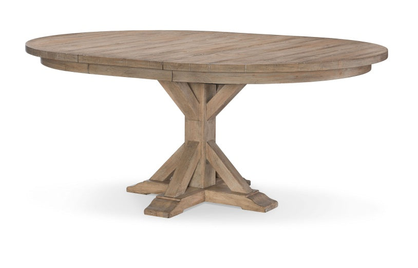 Legacy Classic Furniture | Dining Round Pedestal Table Opt 5 Piece Set in Pennsylvania 5457