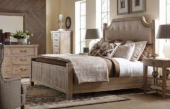 Legacy Classic Furniture | Bedroom King Uph Low Post 5 Piece Bedroom Set in Pennsylvania 7863