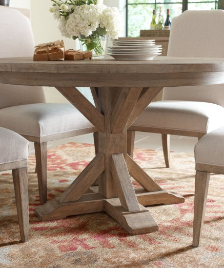 Legacy Classic Furniture | Dining Round Pedestal Table Opt 5 Piece Set in Pennsylvania 5455