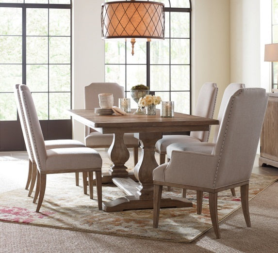 Legacy Classic Furniture | Dining Trestle Table 7 Piece Set in Pennsylvania 5428