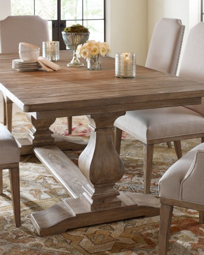 Legacy Classic Furniture | Dining Trestle Table 7 Piece Set in Pennsylvania 5430