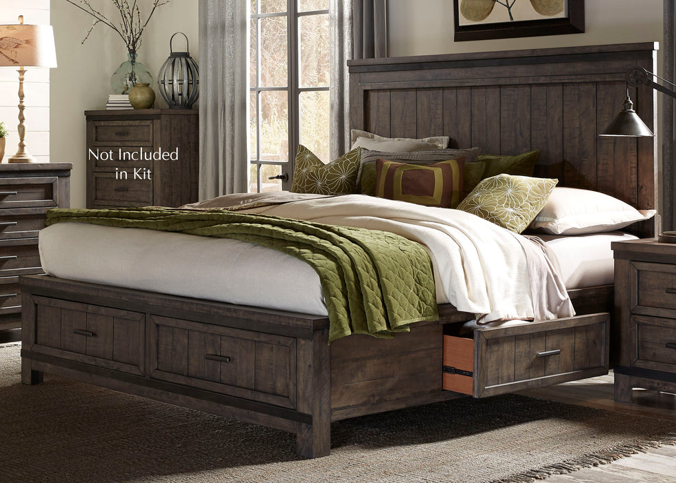 Liberty Furniture | Bedroom King Two Sided Storage Beds in Annapolis, Maryland 1776