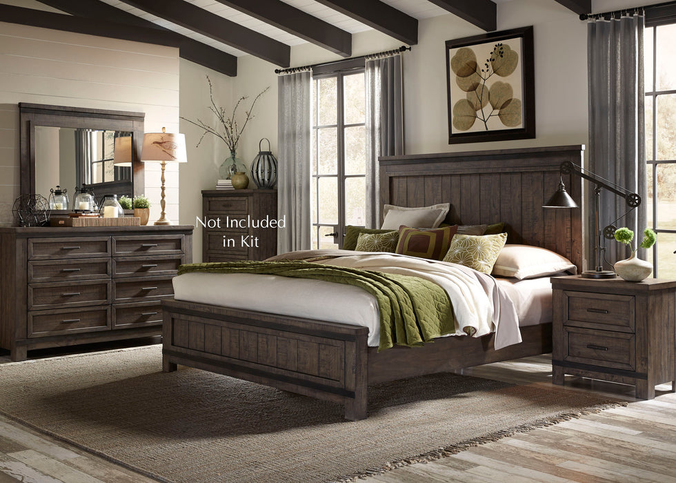 Liberty Furniture | Bedroom King Panel 4 Piece Bedroom Sets in Pennsylvania 1812