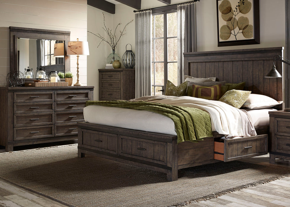 Liberty Furniture | Bedroom Queen Two Sided Storage 4 Piece Bedroom Sets in New Jersey, NJ 1837