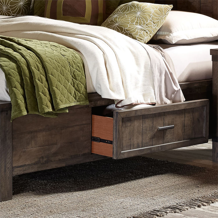 Liberty Furniture | Bedroom King Two Sided Storage Beds in Annapolis, Maryland 9826