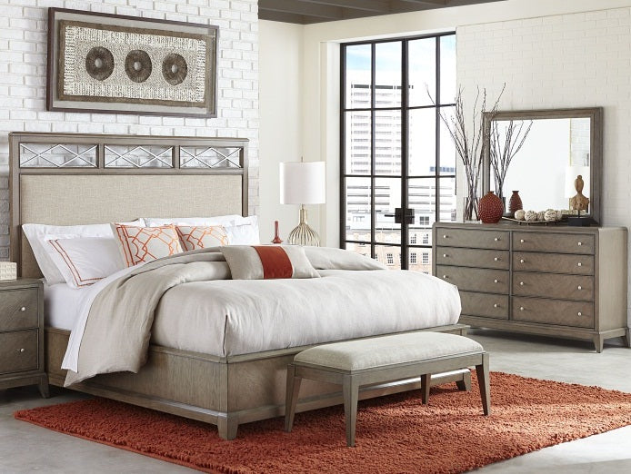 Legacy Classic Furniture |  Bedroom Uph Platform CA King 3 Piece Bedroom Set in New Jersey, NJ 124