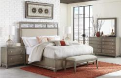 Legacy Classic Furniture | Bedroom Uph Platform CA King 4 Piece Bedroom Set in Pennsylvania 136