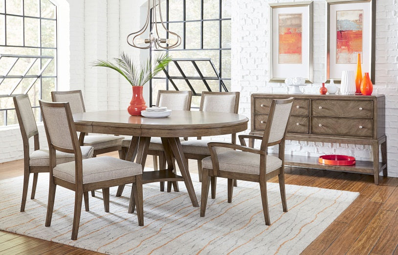 Legacy Classic Furniture |  Dining Round To Oval Pedestal Table in Richmond Virginia 272