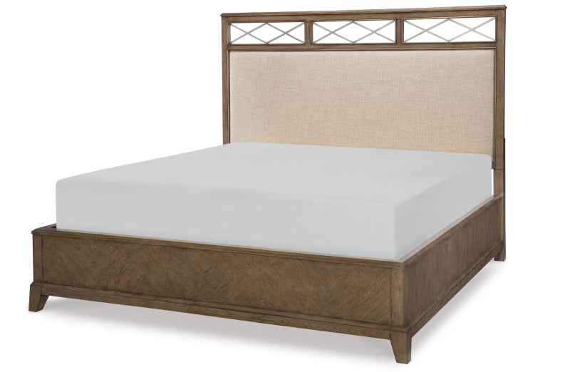 Legacy Classic Furniture | Bedroom Uph Platform CA King 4 Piece Bedroom Set in Pennsylvania 138