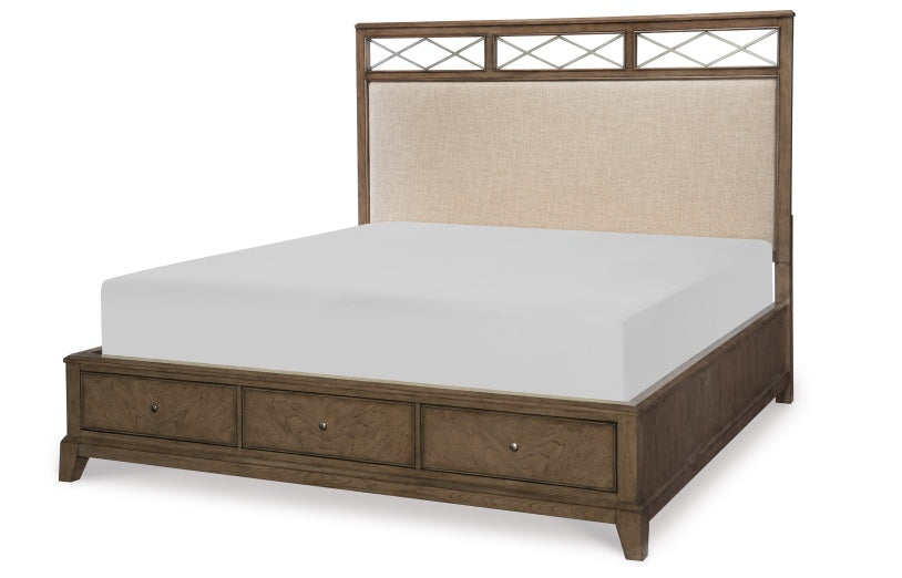 Legacy Classic Furniture | Bedroom Upholstered Platform Bed W/Storage Queen 5/0 in Winchester, VA 56