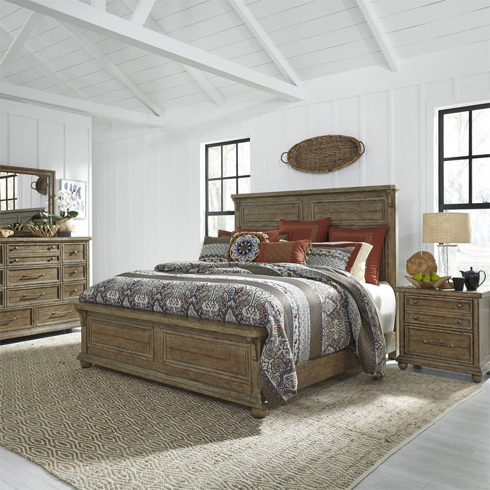 Liberty Furniture | Bedroom (779-BR) Queen Panel 4 Piece Bedroom Sets in New Jersey, NJ 2868