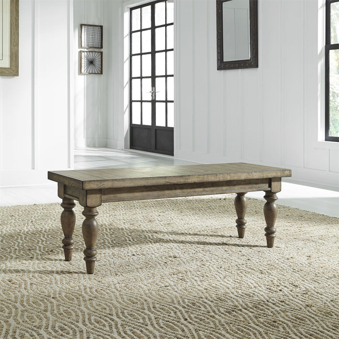 Liberty Furniture | Dining 6 Piece Trestle Table Set in Pennsylvania 7755