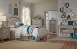 Legacy Classic Furniture | Youth Bedroom Complete Upholstered Panel Bed Twin 3 Piece Bedroom Set in Baltimore, Maryland 10555