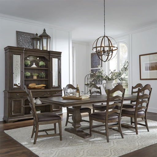 Liberty Furniture | Dining Trestle Table 7 Piece Set in Baltimore, Maryland 18146