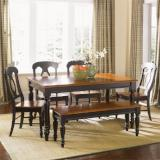 Liberty Furniture | Casual Dining Opt 6 Piece Rectangular Table Set in Lynchburg, VA 7884