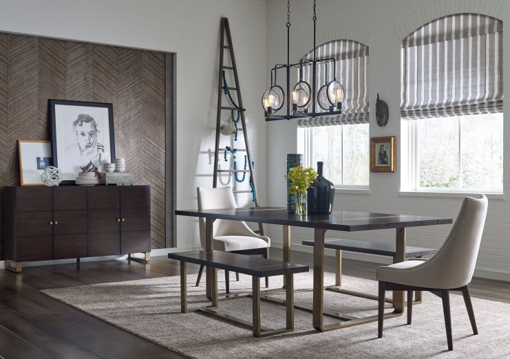 Legacy Classic Furniture | Dining Rect. Dining Table w/ Brass Finished Wood in Richmond,VA 1537