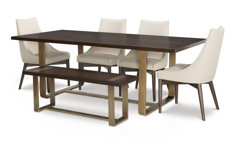 Legacy Classic Furniture | Dining Rect. Dining Table w/ Brass Finished Wood in Richmond,VA 1539