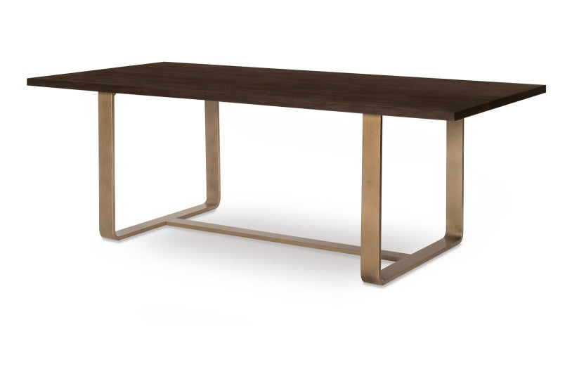 Legacy Classic Furniture | Dining Rect. Dining Table w/ Brass Finished Wood in Richmond,VA 1532