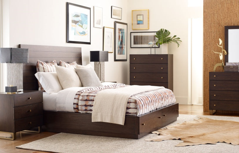 Legacy Classic Furniture | Bedroom King Storage Panel Bed 5 Piece Bedroom Set in Pennsylvania 1381