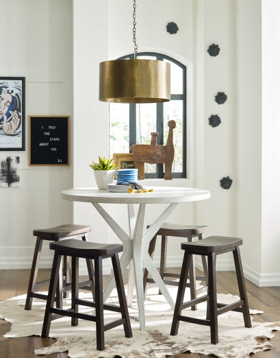 Legacy Classic Furniture | Dining Round Pub Table in Charlottesville, Virginia 1521