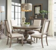 Legacy Classic Furniture | Dining Round Pedestal Table 5 Piece Set in Pennsylvania 5306