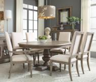 Legacy Classic Furniture | Dining Round Pedestal Table 7 Piece Set in Pennsylvania 5328