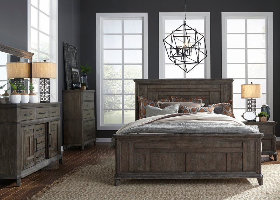 Liberty Furniture | Bedroom King Panel 5 Piece Bedroom Sets in Pennsylvania 488