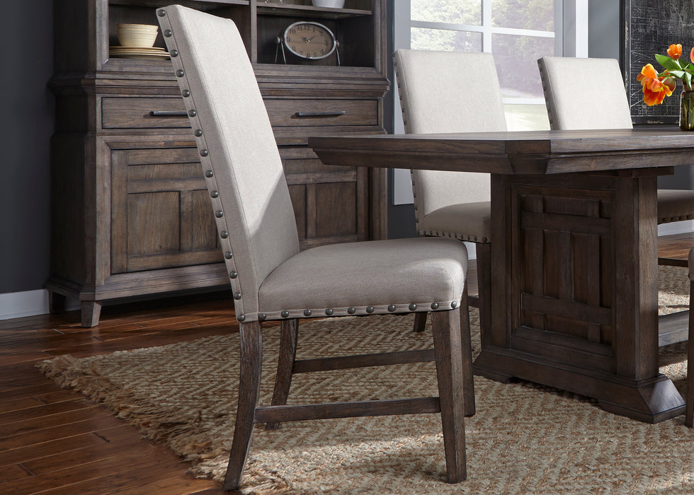 Liberty Furniture | Dining 6 Piece Trestle Table Sets in Charlottesville, Virginia 838