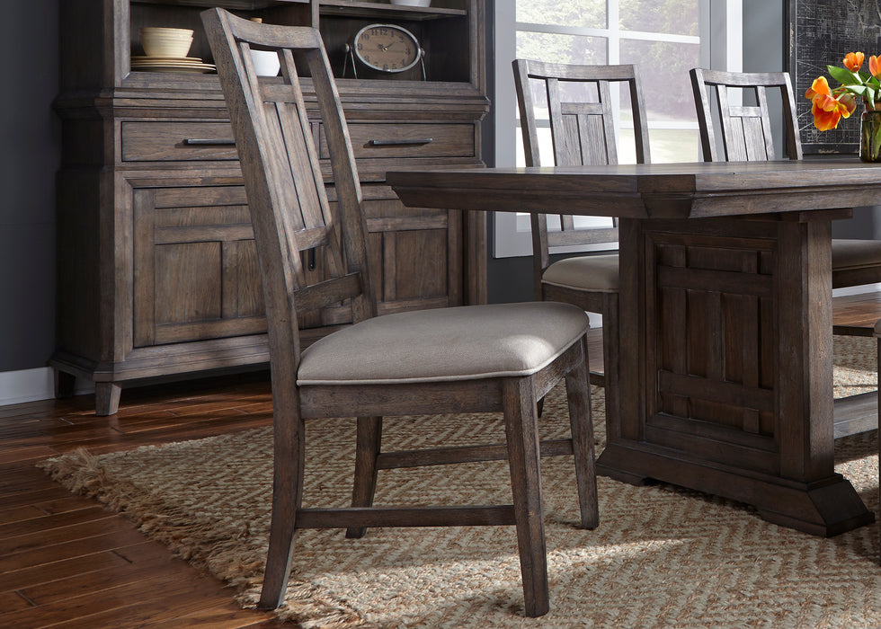 Liberty Furniture | Dining Opt 6 Piece Trestle Table Sets in Washington D.C, NV 827