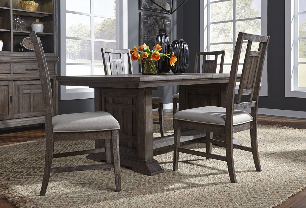 Liberty Furniture | Dining Opt 5 Piece Trestle Table Sets in Washington D.C, NV 811