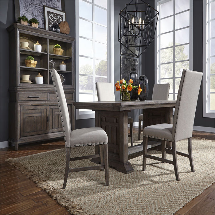 Liberty Furniture | Dining 5 Piece Trestle Table Sets in Lynchburg, Virginia 833