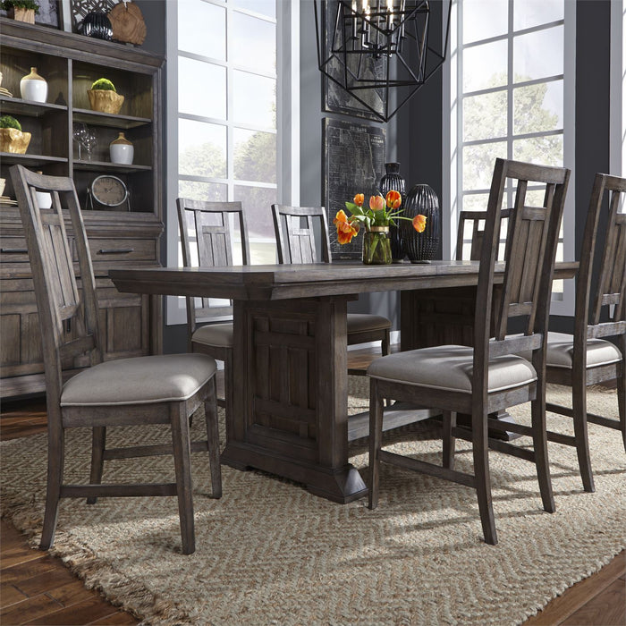 Liberty Furniture | Dining Opt 7 Piece Trestle Table Sets in Winchester, Virginia 4807