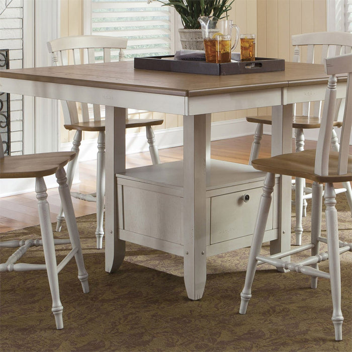Liberty Furniture | Casual Dining Slat Back Counter Chairs in Richmond,VA 10693