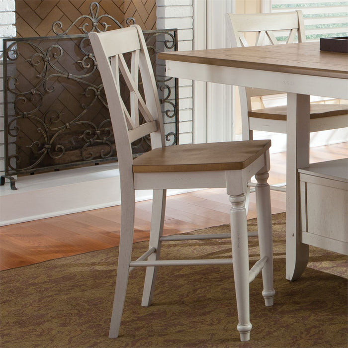 Liberty Furniture | Casual Dining Double X Back Counter Chairs in Richmond Virginia 10677