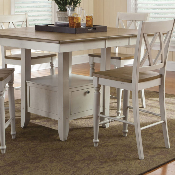 Liberty Furniture | Casual Dining Double X Back Counter Chairs in Richmond Virginia 10684