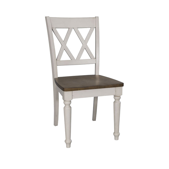 Liberty Furniture | Casual Dining Double X Back Side Chairs in Richmond Virginia 10703