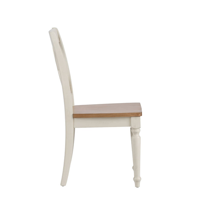 Liberty Furniture | Casual Dining Double X Back Side Chairs in Richmond Virginia 10704